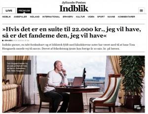 Daytraderen Tom Hougaard er kendt for sin effektive DAX trading. Her optræder han i et interview i Jyllands-Posten i 2015. Daytrading.dk tilbyder samme handelsplatform som den Tom Hougaard bruger.
